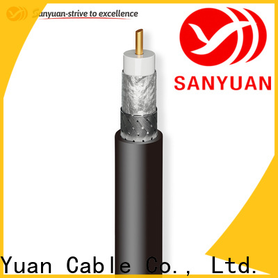 SanYuan stable 50 ohm coax cable manufacturer for TV transmitters