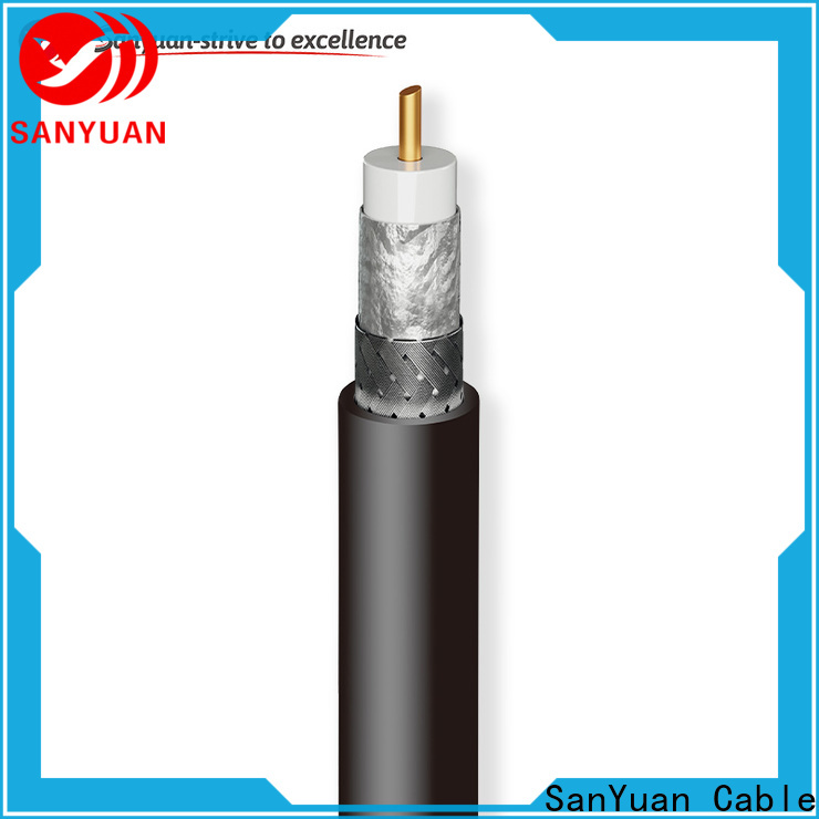 SanYuan 50 ohm coaxial cable series for TV transmitters