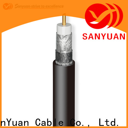 SanYuan top quality 50 ohm coax wholesale for TV transmitters