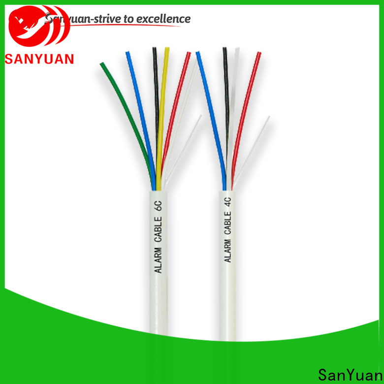 SanYuan high-quality alarm cable supply for intercom