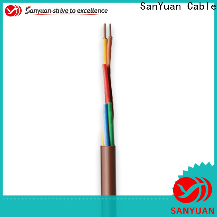 SanYuan thermostat wire factory for heating and air conditioning installations