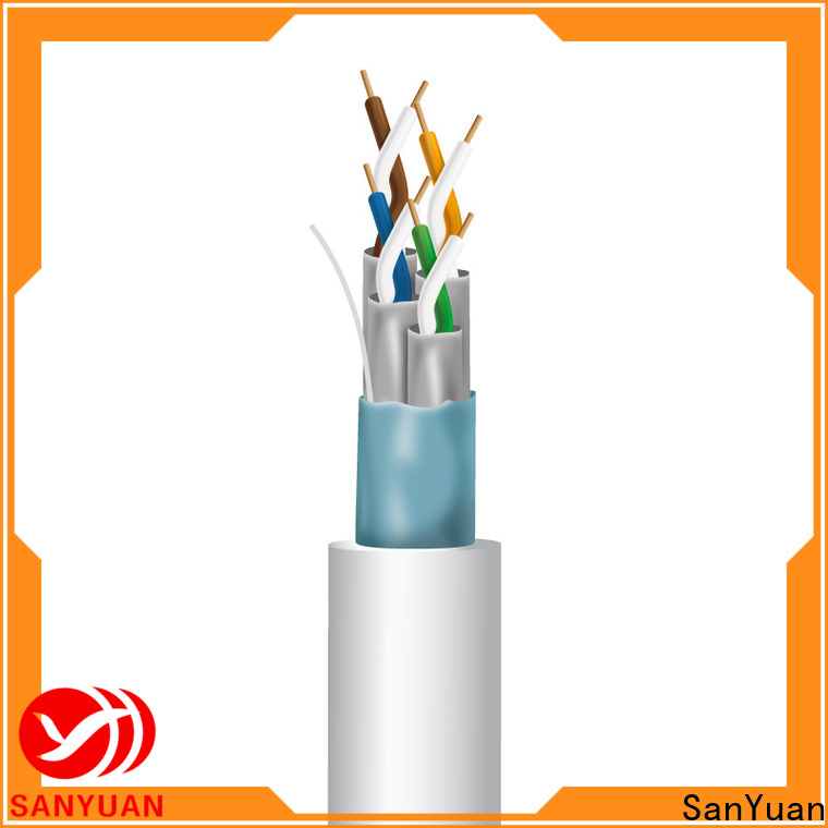SanYuan durable cat 7 lan cable series for data transfer