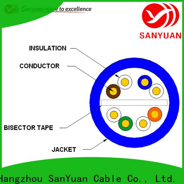 professional cat 6 cable supplier for internet