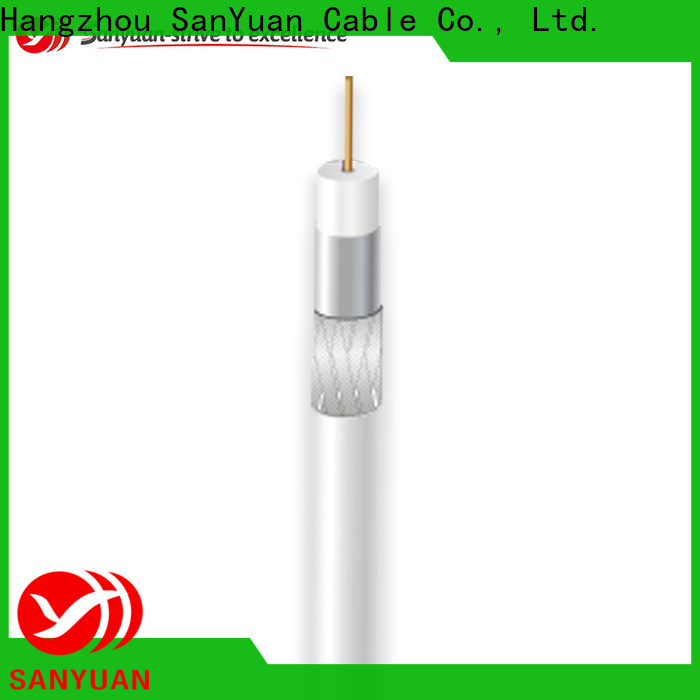 SanYuan best 75 ohm cable suppliers for HDTV antennas