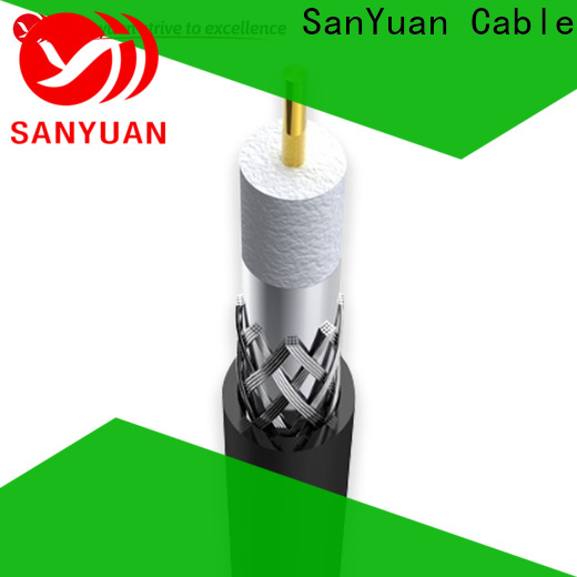 easy to expand 75 ohm coaxial cable manufacturers for digital audio