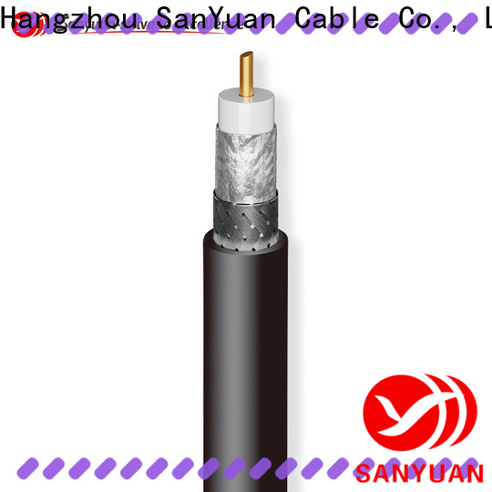 SanYuan trustworthy coax cable 50 ohm series for walkie talkies