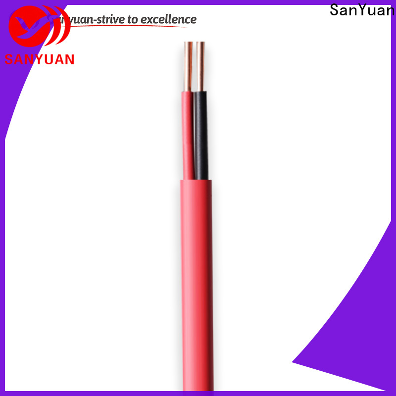 SanYuan flexible control cable company for instrumentation