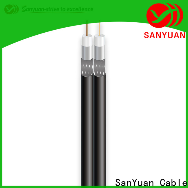 SanYuan cable coaxial 75 ohm company for digital audio