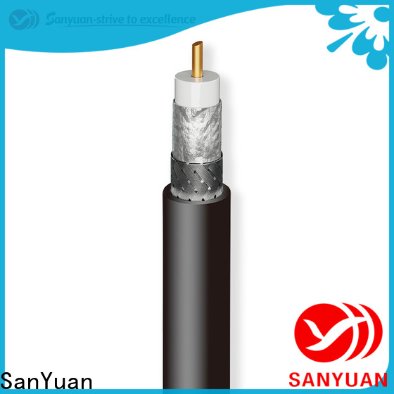 SanYuan trustworthy 50 ohm coaxial cable manufacturer for TV transmitters