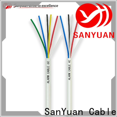 SanYuan alarm cable company for burglar alarms