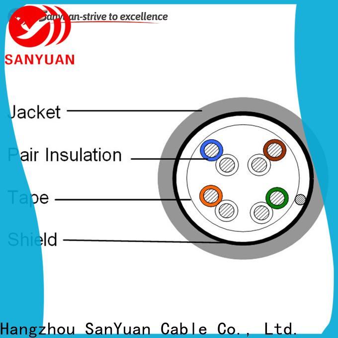 SanYuan new category 5e lan cable manufacturer for computers