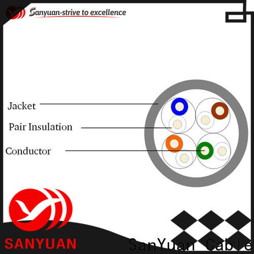 SanYuan inexpensive cable cat 5e directly sale for telephony
