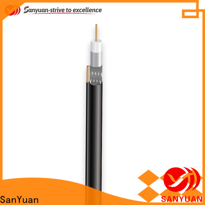 SanYuan best 75 ohm cable supply for data signals