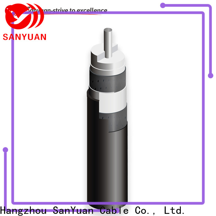 SanYuan cable coaxial 75 ohm company for HDTV antennas