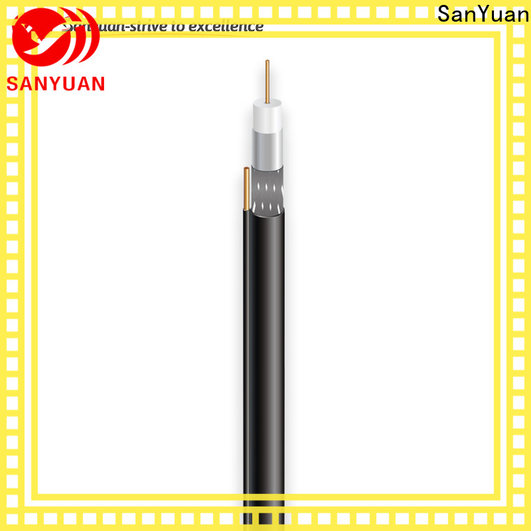 SanYuan cable coaxial 75 ohm company for satellite
