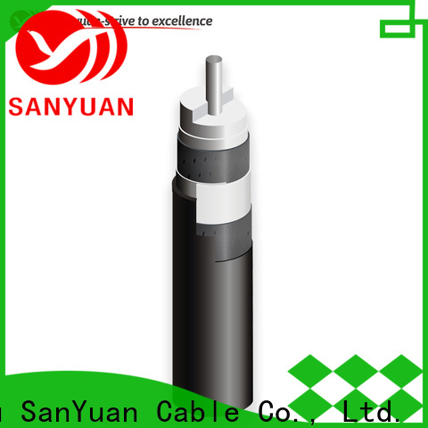 SanYuan top 75 ohm cable factory for data signals