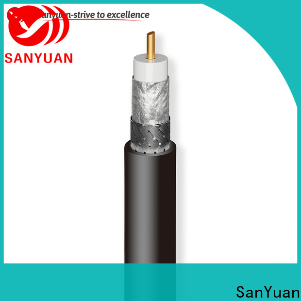 SanYuan cost-effective 50 ohm coax cable directly sale for broadcast radio
