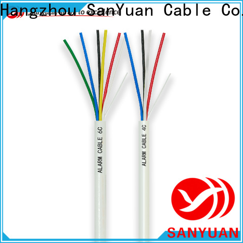 SanYuan top security alarm cable suppliers for burglar alarms