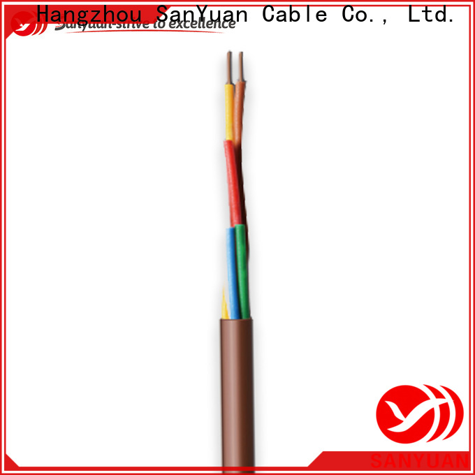 SanYuan best thermostat wire suppliers for signal systems