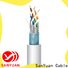 SanYuan cat 7 lan cable directly sale for railway