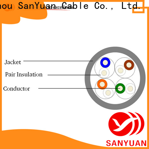 SanYuan professional cable cat 5e supplier for video