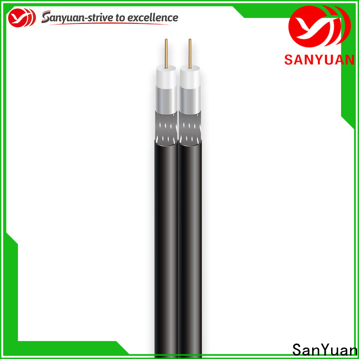 SanYuan 75 ohm coaxial cable manufacturers for satellite