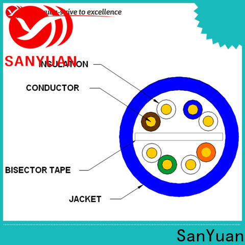 SanYuan cat6 cable directly sale for internet