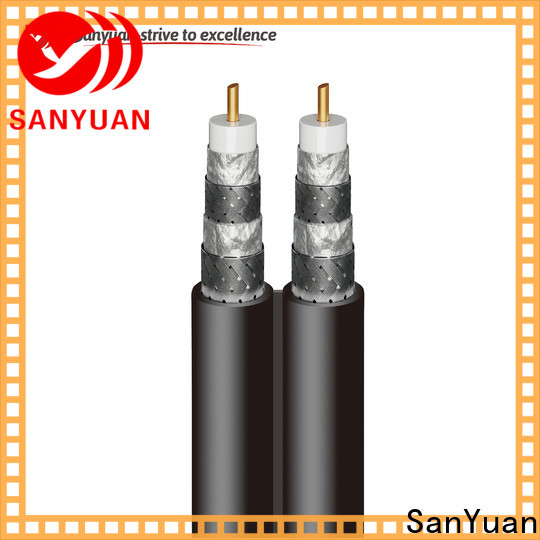 SanYuan cable 75 ohm manufacturers for satellite