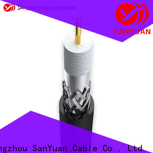 SanYuan cable coaxial 75 ohm suppliers for data signals
