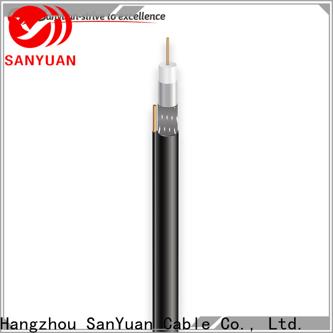 SanYuan best 75 ohm coax supply for HDTV antennas