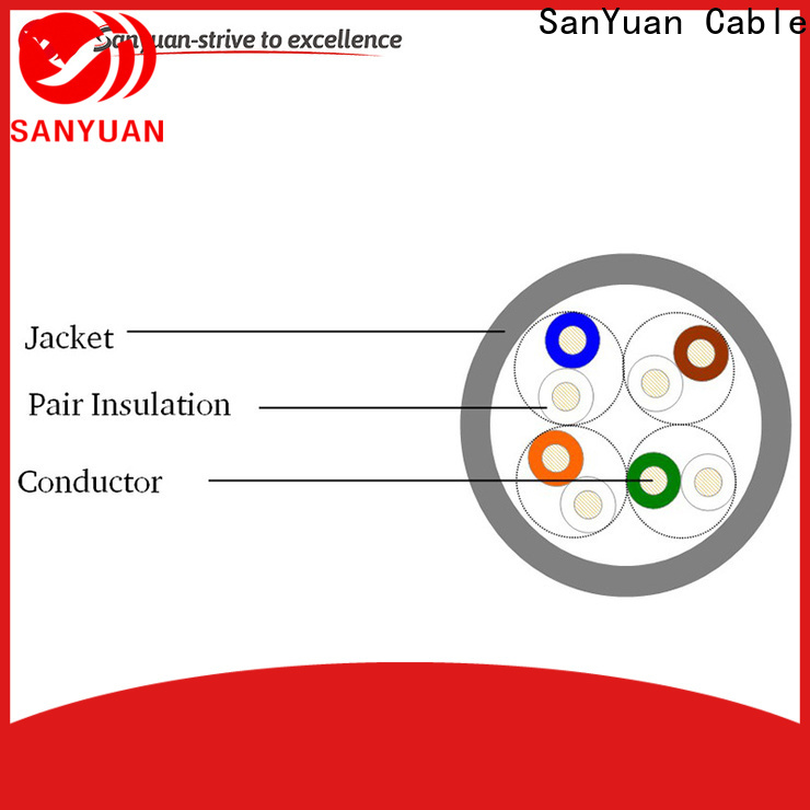 SanYuan cat 5e lan cable manufacturer for telephony