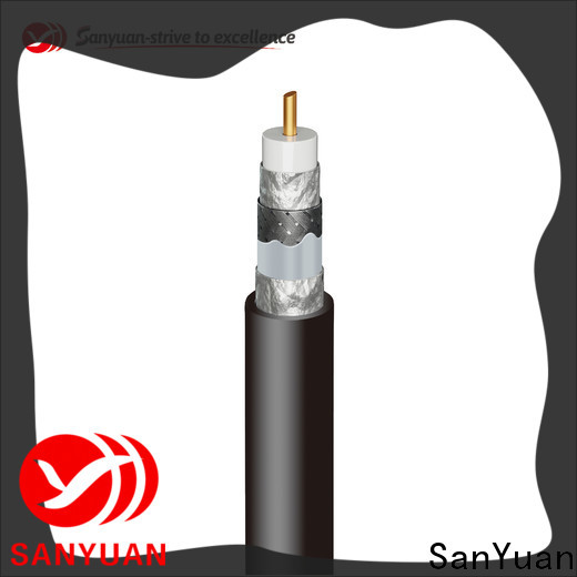 SanYuan latest cable 75 ohm supply for digital video