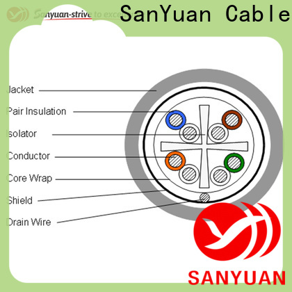 professional cat6 lan cable wholesale for data network