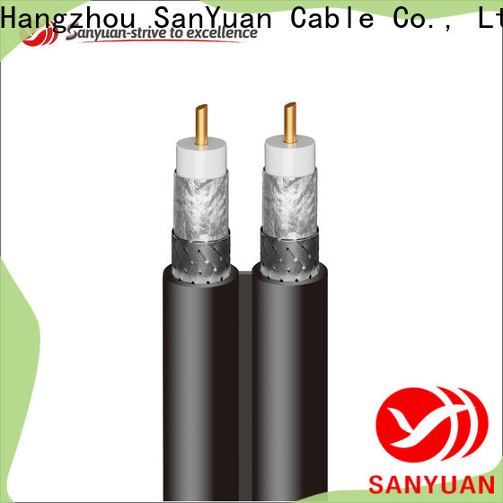 SanYuan cable 75 ohm factory for digital audio