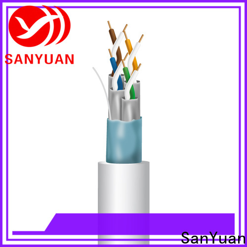 SanYuan category 7 lan cable wholesale for railway