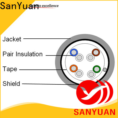 SanYuan cable cat 5e wholesale for video