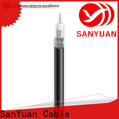 SanYuan best 75 ohm coax company for HDTV antennas