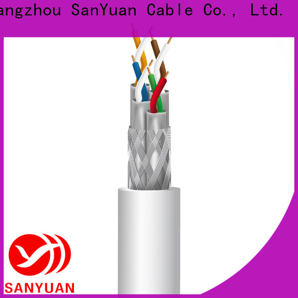 SanYuan best cat 7a ethernet cable suppliers for railway