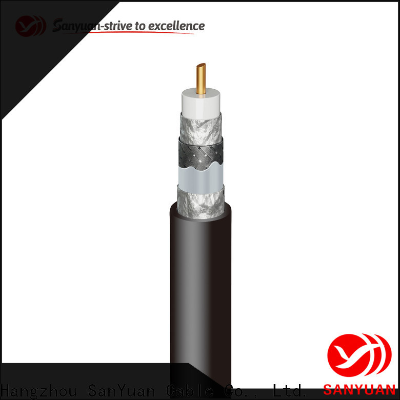 SanYuan 75 ohm coaxial cable manufacturers for digital video