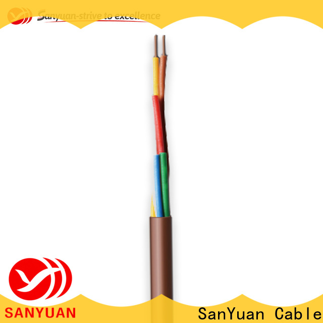 SanYuan latest thermostat cable suppliers for heating and air conditioning installations