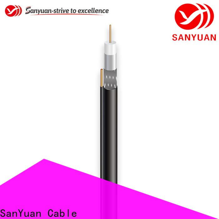 SanYuan 75 ohm coax company for data signals