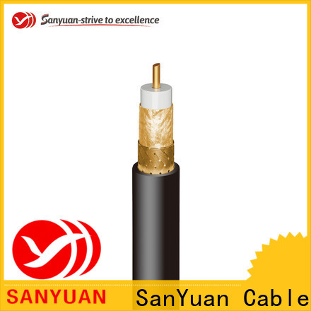 SanYuan cheap 75 ohm coax supply for HDTV antennas