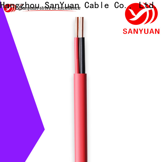 SanYuan control cable manufacturers for instrumentation