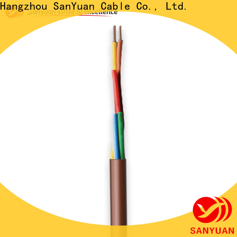 SanYuan wholesale thermostat cable suppliers for signal systems