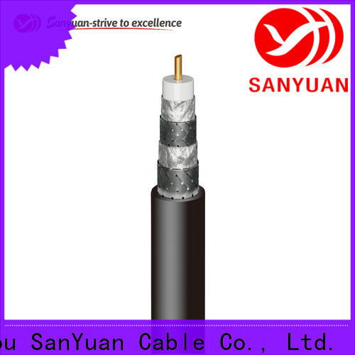 SanYuan long lasting cable coaxial 75 ohm supply for data signals