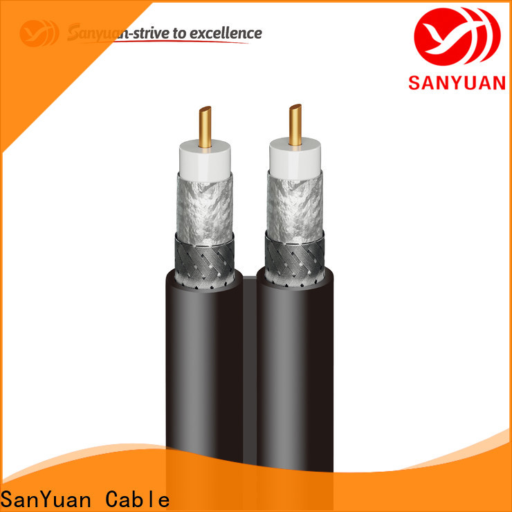 SanYuan 75 ohm coax manufacturers for data signals