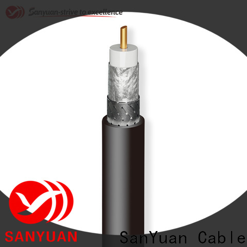 SanYuan strong 50 ohm coaxial cable manufacturer for TV transmitters