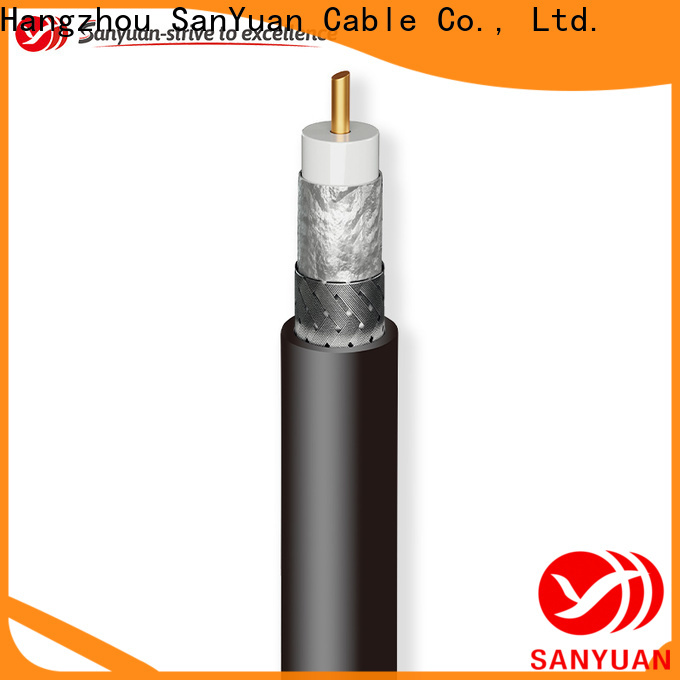 SanYuan coax cable 50 ohm directly sale for cellular phone repeater