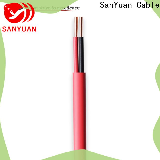 SanYuan flexible control cable suppliers for instrumentation