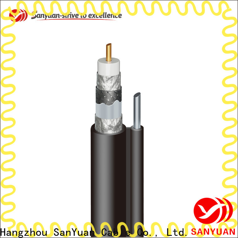 SanYuan reliable cable coaxial 75 ohm supply for data signals